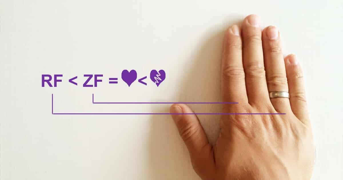 Schlimmer (Ring)Finger – die Statistik lügt nie?!