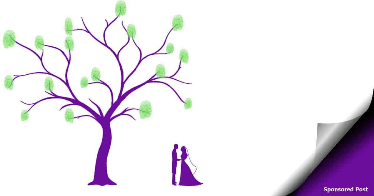 Ein Weddingtree ist eine wunderbare, kreative Geschenkidee für jede Hochzeit.