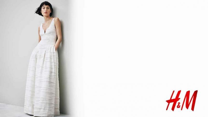 Nachhaltige Überraschung - Hochzeitskleider von H&M